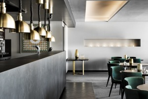 The Lounge at Frogmore Creek, an elegant bar and restaurant on Hobart's waterfront.