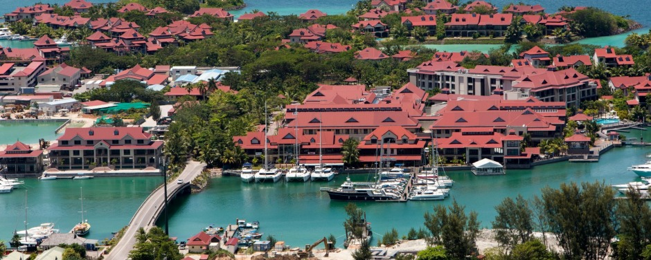 The highly forgettable Seychelles capital of Victoria.