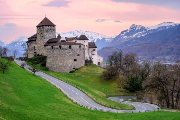 Vaduz: The capital of Liechtenstein has a rather pretty setting with a mountain backdrop, but it's hard to escape the ...