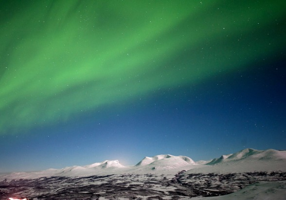 CHASING THE NORTHERN LIGHTS IN ABISKO  If you really want to embrace the Swedish winter, head north to Abisko west of ...