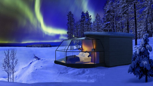 The Northern Lights season in Lapland spans from mid-August until early April, but the night we are booked to stay in an ...