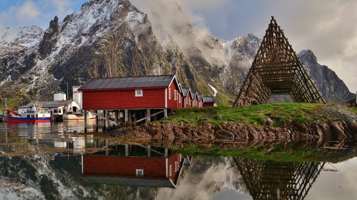 Norways' Lofoten Islands