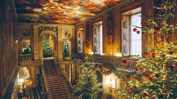There's a different theme each Christmas at one of Britain's most beautiful stately homes, Chatsworth House.