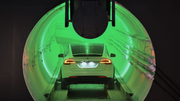 Elon Musk to build self-driving car tunnel system under Las Vegas
