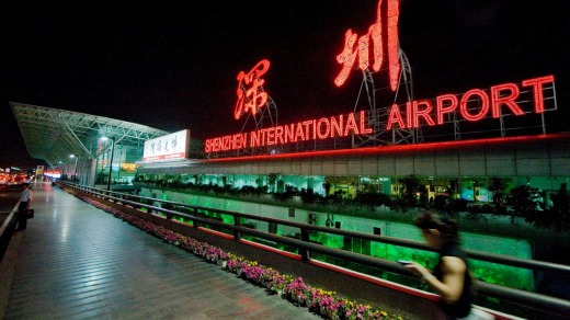 Shenzhen Bao'an International Airport was rebuilt in 2013 and is a thing of beauty.