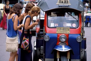 Tuk Tuk drivers are notorious for scamming unsuspecting tourists out of a few dollars.