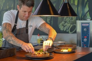 Chef Ben Milbourne of CharlotteJack restaurant