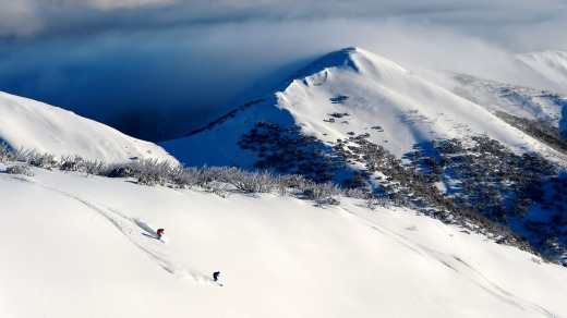Hotham Alpine resort.