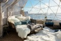 The Dream igloo suite at waterfront hotel Pier One.