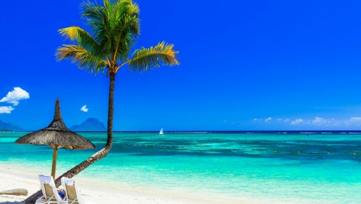 The beautiful tropical island of Mauritius is a place Josh Piterman has always wanted to go to.