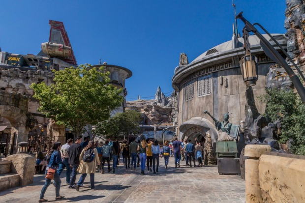 Galaxy's Edge is one of the largest expansions in Disneyland's history.