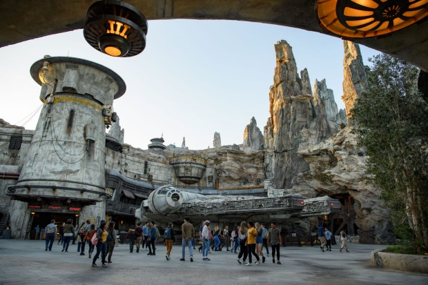 Visitors to Disneyland will be able to access Galaxy's Edge as part of their regular entry ticket from June 24.
