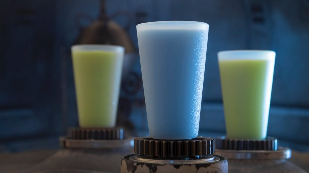 You can try Luke Skywalker's favourites - blue and green milk.