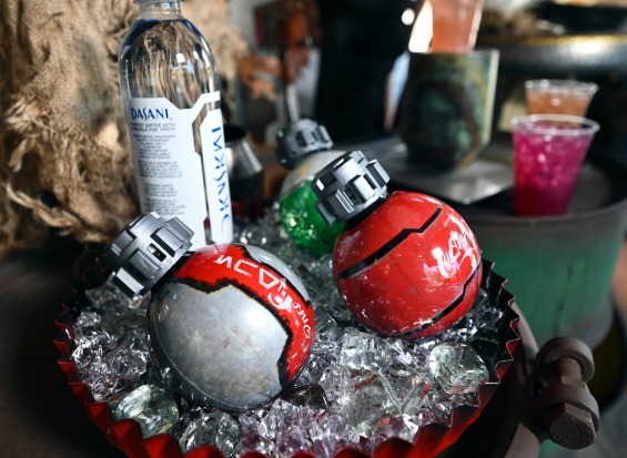 Coca-Cola even gets into the act with Star Wars-themed bottles exclusive to the Galaxy's Edge park.