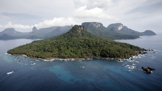 Principe is a UNESCO-listed biosphere reserve.