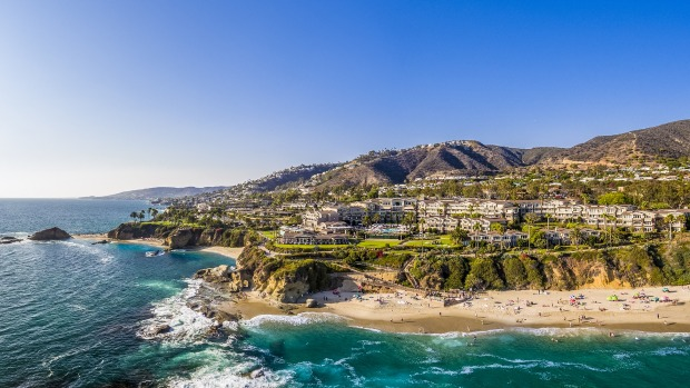 The resort is one of the few with direct beach access to the 11-kilometre sands of Laguna Beach and its popular tidal pools.
