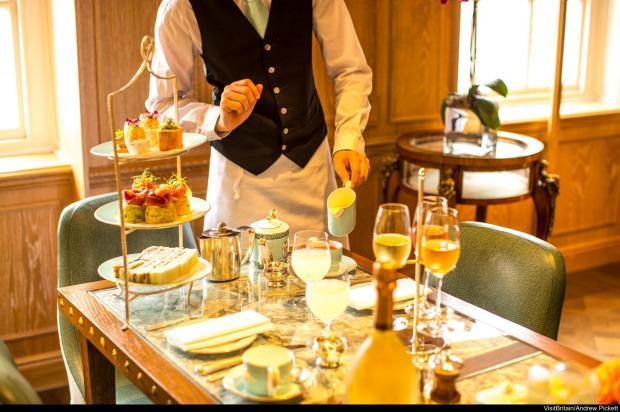 FORTNUM AND MASON, PICCADILLY LONDON: This is a classic, served with suitable pomp and circumstance in the elegant Tea ...