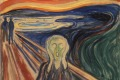 """Detail of Edvard Munch's famous painting """"The Scream"""", 1910. Viking has secured digital rights to the entire collection ..."""