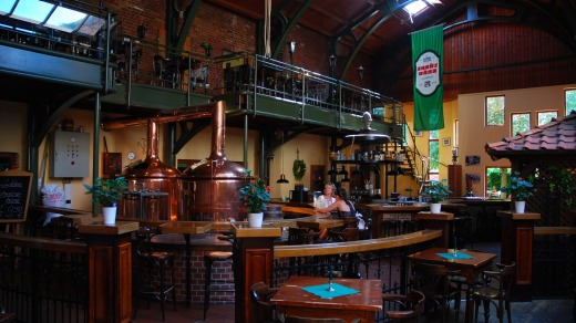 The Brauhaus Lüdde brewery makes traditional beers using historic recipes.