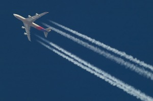 Commercial flying accounts for about 2.5% of global carbon emissions.