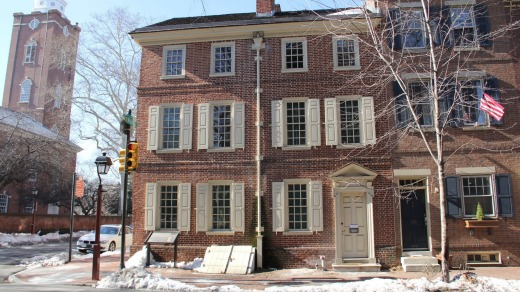 The ThaddeusKosciuszko National Memorial in Philadelphia is in a boarding house where Kosciuszko stayed briefly in the ...