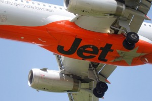 The first ever Jetstar flight took off from Newcastle in 2004. Where did it land?