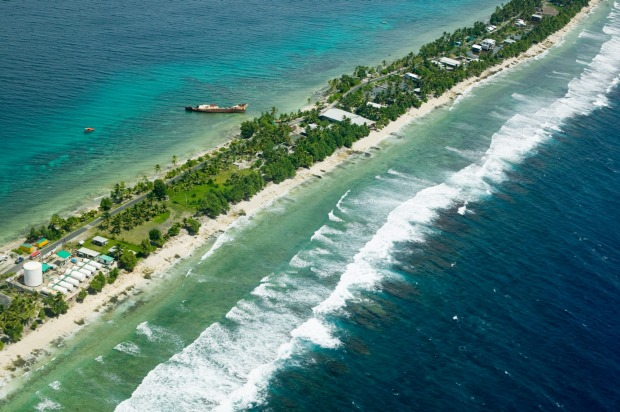 Tuvalu, 3,472km from Brisbane: With a population of just under 12,000 people, spread across nine islands, Tuvalu is ...