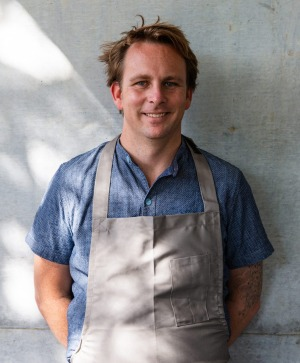 Chef Ben Devlin of Pipit Restaurant.