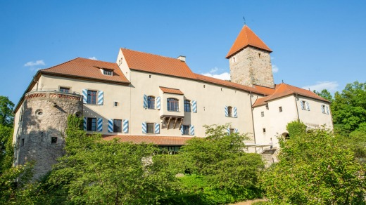 Hotel Burg Wernberg has serious history: it was first mentioned in historical records in 1280.