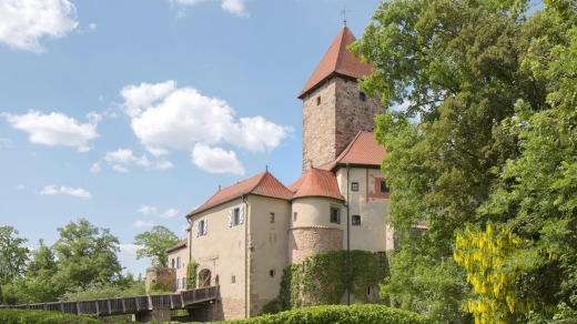 Hotel Burg Wernberg Bavaria has a fairytale enchantment to its looks but is up-to-date on the inside.