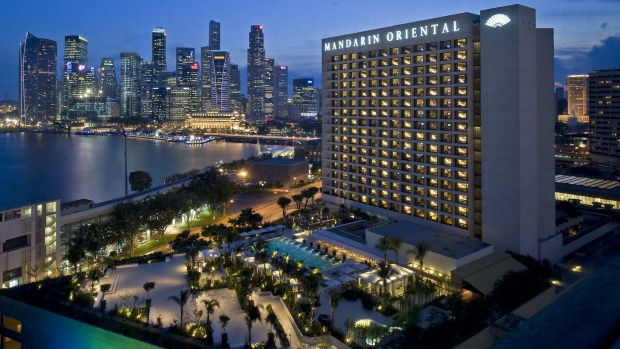 Solid and dependable  Mandarin Oriental Hotel Singapore.
