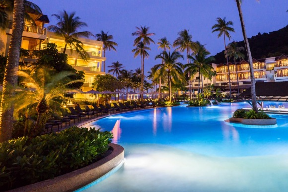 Phuket Marriott Resort and Spa, Merlin Beach, Thailand.