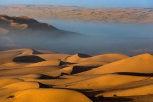 The Sharqiya Sands desert – also known as Wahiba Sands – is a three-hour drive from Muscat, Oman's capital.