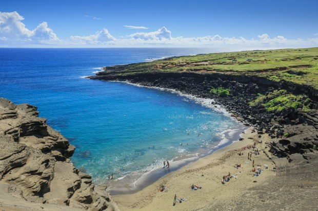 BEACHES: Hawaii draws you to its shores with its warm waters. And on the Big Island you can take a dip off a golden sand ...