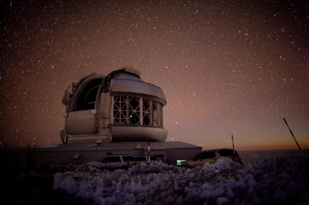 THE SKY: The air of Hawaii is remarkably clear and the summit of Mauna Kea is home to several astronomic observatories. ...