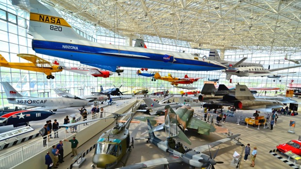The Museum of Flight in Seattle features aircraft from the dawn of flight to modern behemoths.