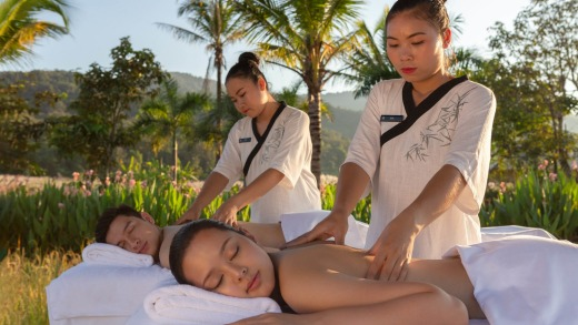 The spa at Pullman Luang Prabang Laos.