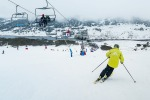 Ski season's opening weekend at Falls Creek.