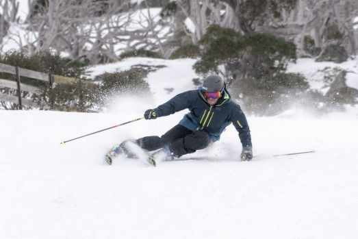 Opening weekend at Perisher.