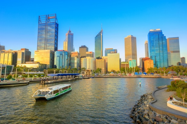 The Swan River: Perth locals will generally take the train to get from A to B, while tourists gleefully don their ...