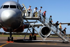 Time is money: Airlines need to get planes back in the air as soon as possible after they land.