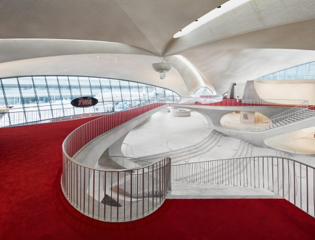 The TWA Hotel at New York's JFK airport opened in May 2019.