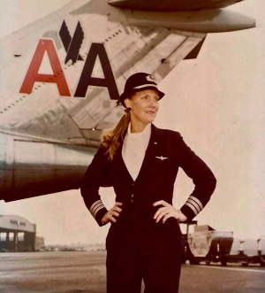 Beverley Bass was hired by American Airlines in 1976.