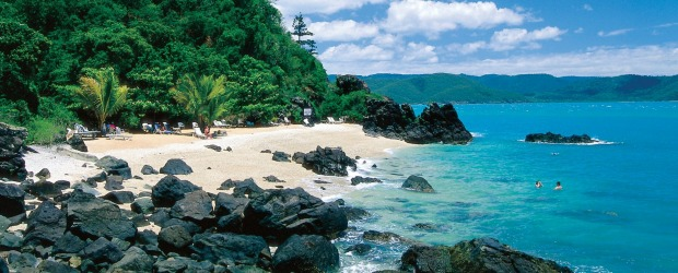 Beach holiday: Daydream Island Resort.