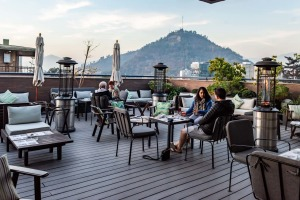 satjun22chile Santiago Chile ;text by Keith Austin ; SUPPLIED via journalist ; The Singular Santiago hotel ; rooftop bar