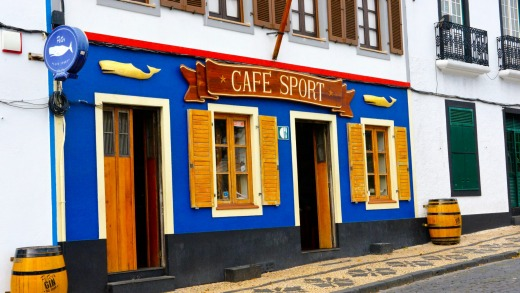 "There's probably no other bar like Peter's Cafe Sport, which has been declared the globe's ""greatest yachting watering hole""."