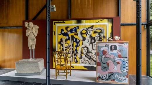 The opening exhibition, Mon univers, explores Le Corbusier's personal passion for collecting.