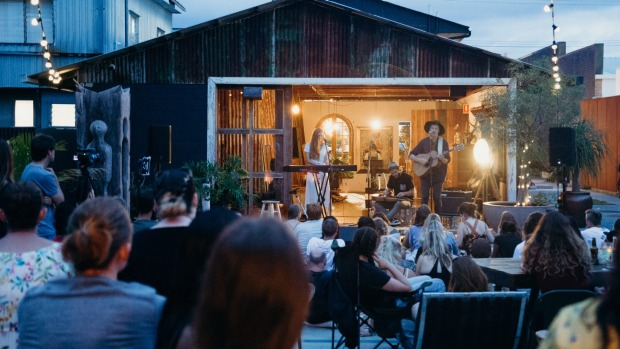 Dust Temple is a communal arts space for people on the Gold Coast.