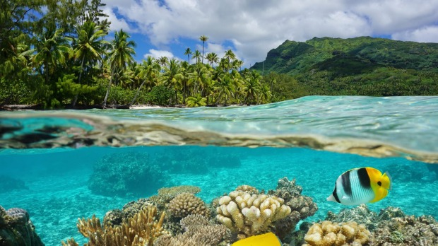 Bora Bora and Moorea might be more famous, but French Polynesian island Huahine is flamboyantly beautiful and yet ...