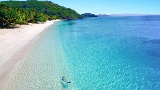 """""""My vision is for it to be the best barefoot luxury resort in Fiji,"""" says Australian property developer Lang Walker."""